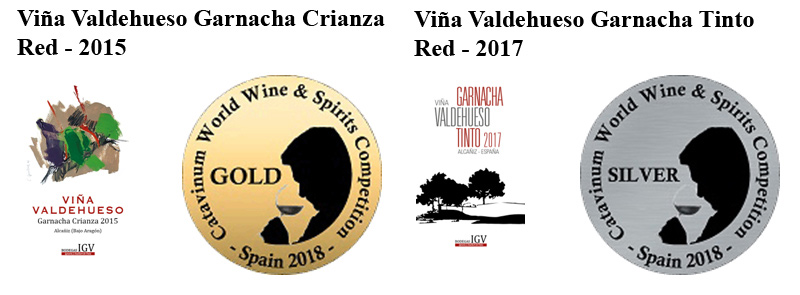 Medallas Catavinum World Wine Competition 2018